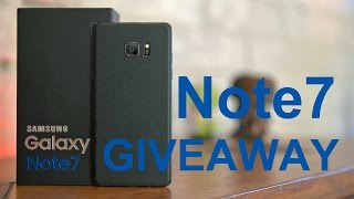 Galaxy Note 7 Double Giveaway! International