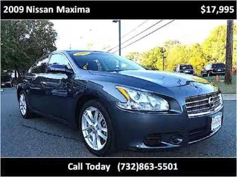 2009 Nissan Maxima Used Cars Freehold,manalapan NJ - YouTube