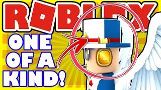 One Of A Kind Hat Combination In Roblox - Video Creator Top Hat and Thoroughly-Tested Hat of QA