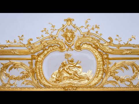 Restauration du Grand Cabinet du Dauphin // Restoration of the Dauphin's Great Chamber