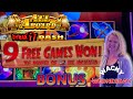 WACKY WEDNESDAY W/ GRETCHEN #21 HIGH LIMIT All Aboard & Spin It Grand Max Bet $25 Bonus Rounds Slot