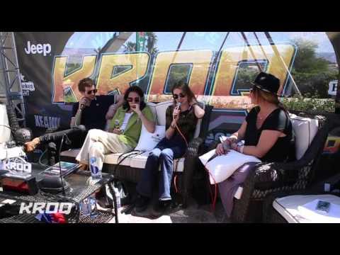 Nicole Alvarez Interviews Wolf Alice at the KROQ Coachella House