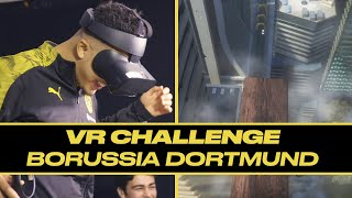 Borussia Dortmund walked the plank and it almost broke Jadon Sancho | VR Challenge E01