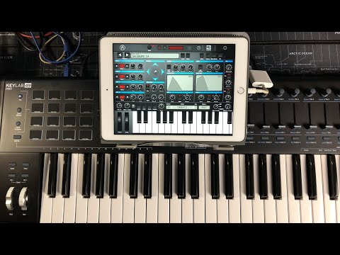Arturia iPhrophet Synthesizer - Let's Play & Some Programming - iPad Live