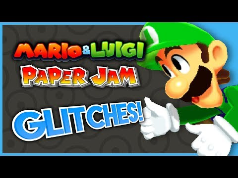 MARIO & LUIGI: PAPER JAM IN UNDER AN HOUR? - What A Glitch! ft. Fawful's Minion