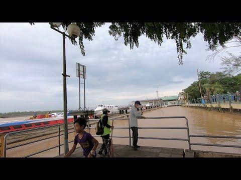 Malaysia | Walking Around Rajang River Port In SIBU, Sarawak (马来西亚诗巫河港)