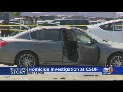 Cal State Fullerton Administrator Stabbed To Death In Campus