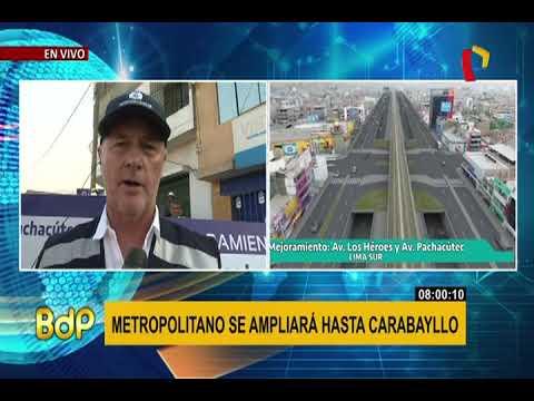Jorge Muñoz anuncia licitación para ampliación del Metropolitano hasta Carabayllo