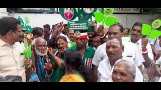 AIADMK Supporters Celebrate | Vikravandi and Nanguneri Assembly bypoll results (2019)