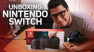Mi Unboxing Nintendo Switch (El fedelobo)
