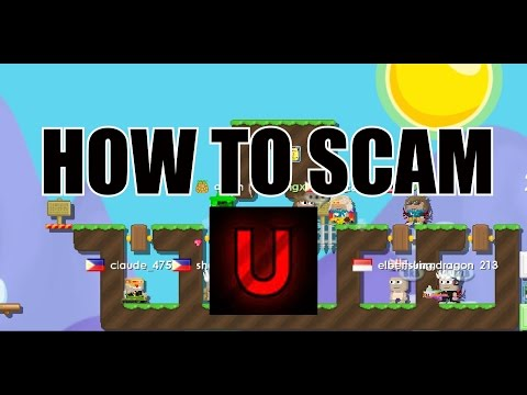 Growtopia - How To Scam #1