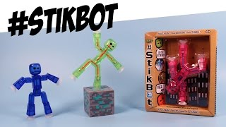 StikBot Collection Opening Create Animate and Share