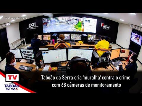 Taboão da Serra ganha Central de Operações e Inteligência com sistema de monitoramento por câmeras