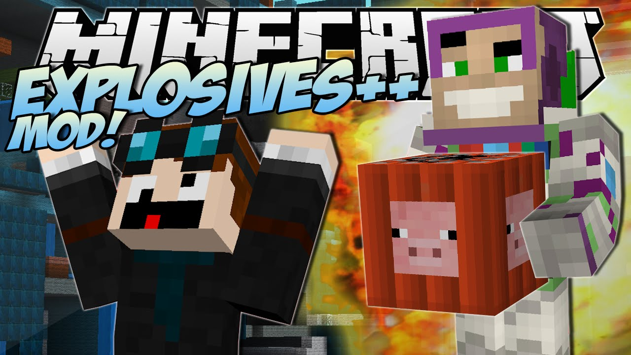 Minecraft | EXPLOSIVES ++ MOD! (The Greatest TNT EVER ...