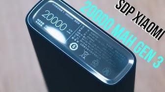 Sạc dự phòng Xiaomi 20000 mAh Gen 3: Sạc được cả laptop