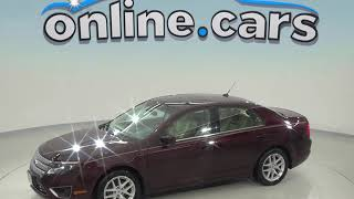 A98635PT Used 2011 Ford Fusion SEL FWD 4D Sedan Maroon Test Drive, Review, For Sale