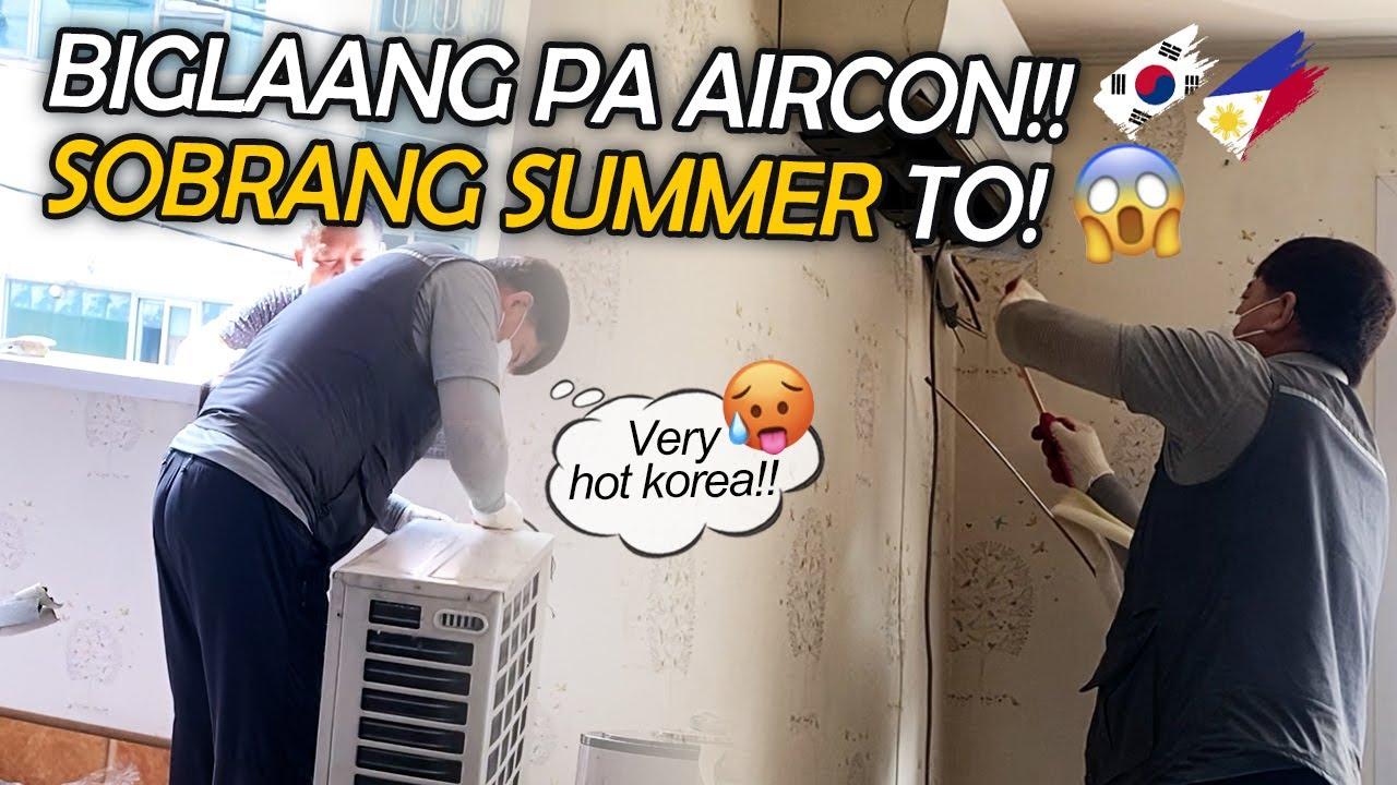 A DAY IN OUR SUMMER KOREA LIFE🥵🇰🇷🇵🇭 +DI KINAYA NI KUYA ANG WALANG AIRCON😅