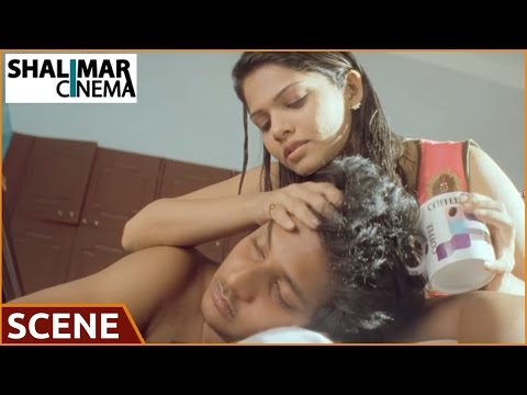 Rangam Modalaindi Movie || Jiiva & Anuya Bhagvath Love Scene  || Shalimarcinema