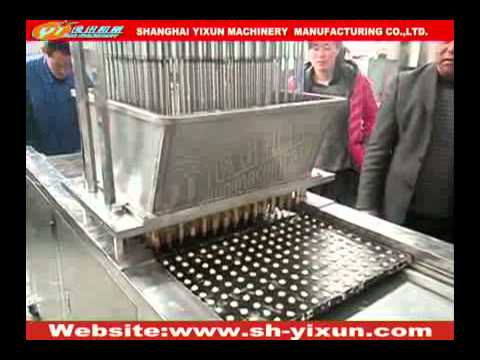 small biscuit forming machine--Biscuit equipment-Shanghai Yixun Machinery Manufacturing Co.,Ltd
