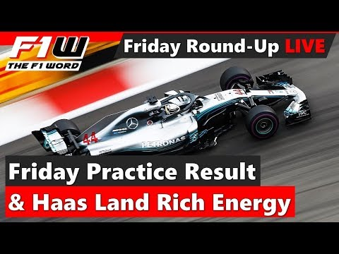 Friday Practice Round-Up, Haas Land Rich Energy and Grosjean Unhappy With Penalty Points
