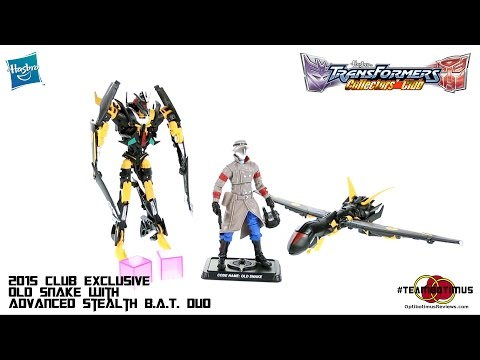 Video Review of the Transformers Collectors Club Old Snake