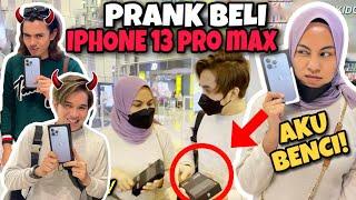 PRANK MAKSOM BELI IPHONE 13 SEBAB TAKNAK KALAH! MAKSOM MENGAMUK!