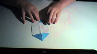 How To Make An Origami Pacman Easy