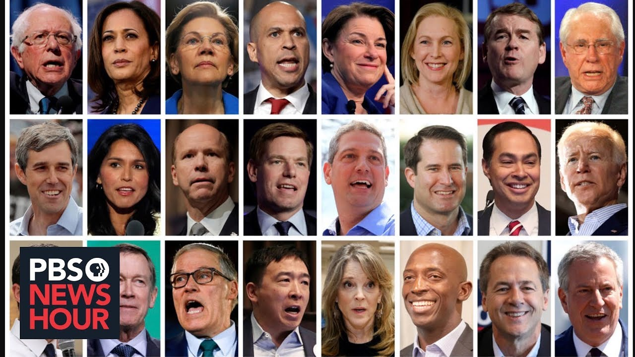 Democratic Presidential Candidate Speech Styles Part 1