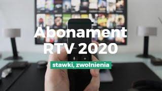 Abonament RTV 2020 - stawki, zwolnienia