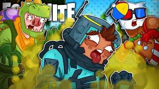 Dinosaur's Ex-STINK Bomb Victory Royale - Fortnite Battle Royale!
