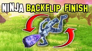 Ninja BACKFLIPS the Victory Royale Kill! Fortnite Best Clips and WTF Moments #94 (Battle Royale)