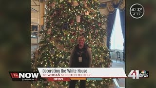 Kansas City woman in national spotlight for decorating White House for holidays