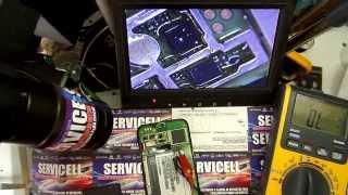 reparacion Huawei Honor C8860 V de Movilnet no enciende , dead corto en pines de bateria