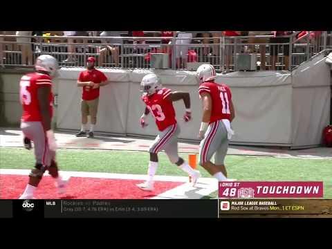 Top Plays: Dwayne Haskins vs. Oregon State Beavers | Ohio State | Big Ten Football