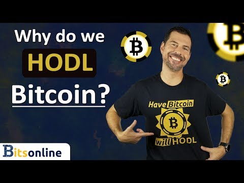 Why Do We HODL Bitcoin?