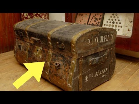 Family Never Believed Their Grandpa's Crazy Stories Until They Open A Box Hidden In His Attic