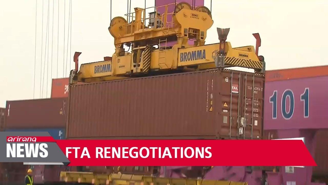 South Korea-U S  FTA renegotiations gaining traction after Trump visit