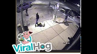 St  Louis Shop Captures Incident on Security Camera || ViralHog