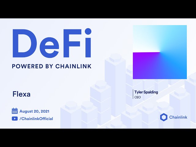 Flexa on Chainlink Live | Smart Contracts for the Payments Industry