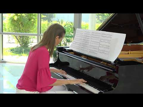 Anna Sutyagina plays  Etude for a Dreamer by Jennifer Thomas