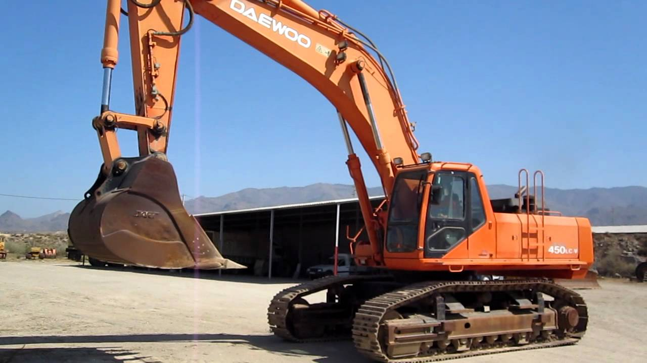 RAMAL MACHINERY DAEWOO 450 - YouTube