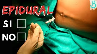 De epidural después la frío en la de sensación espalda
