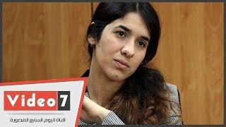 """بالفيديو .. الفتاة الأيزيدية تدعو """"طلاب القاهرة"""" لمظاهرات مليونية لنصرة قضيتها"""