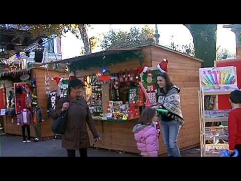 Paese Natale Di Babbo Natale.Il Paese Di Babbo Natale 2015 Chianciano Terme Inaugurazione Youtube