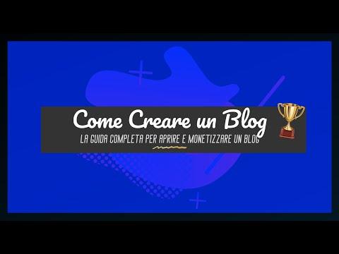 COME CREARE UN BLOG DI SUCCESSO NEL 2020 - TUTORIAL ITA [AUDIO]