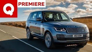 Al volante della nuova Range Rover ibrida ricaricabile!   Quattroruote
