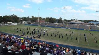 DeRidder Band Performs at 2011 Sulphur High School Marching Festival 11/5/2011