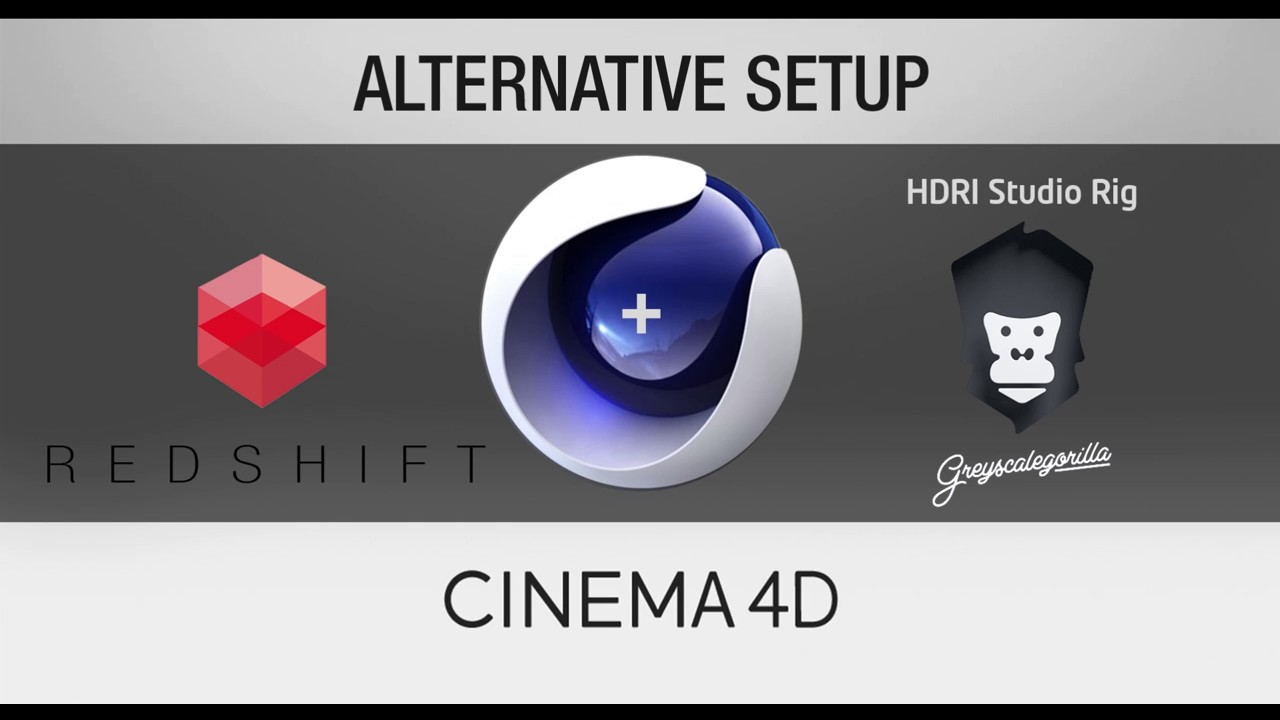Alternative Setup HDRI Studio Rig with RedShift in Cinema 4d