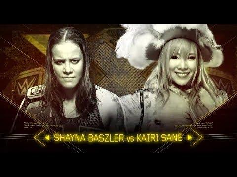 NXT Womens Championship Match Kairi Sane vs Shayna Baszler Takeover Brooklyn 4 Hightlitghs