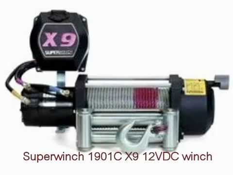 superwinch 1901c x9 12vdc winch rated line pull of 9 000 lb 4082 kg rh youtube com T1500 Superwinch Wiring-Diagram Superwinch 9000 Wiring-Diagram